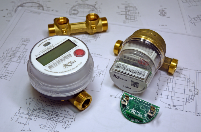 IoT-CONNECTED PART for LoRaWAN network connection for YOUR metering instruments
